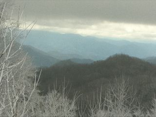 Come visit the beautiful snow in the smoky mountains in the winter months!