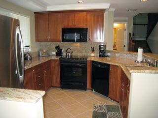 Waikoloa Beach Resort condo photo - The kitchen - fully equipped, granite counters