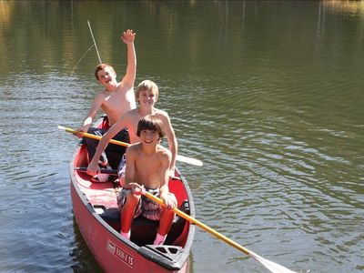 canoeing fun!
