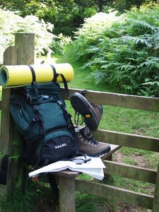 Cheddar cabin rental - Plenty of well marked foot paths