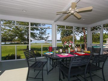 Screened Porch for Dining