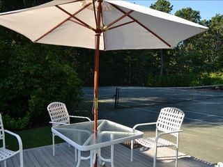 Quogue house photo - Tennis Court Deck