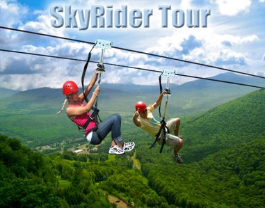 The Longest Zipline in North America available all year long !!