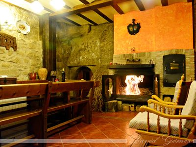STONE HOUSE WITH BODEGA, BARBECUE AND WIFI 6-7PERSONAS