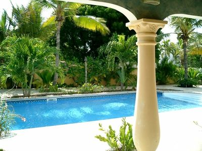 Aruba villa rental - Pool