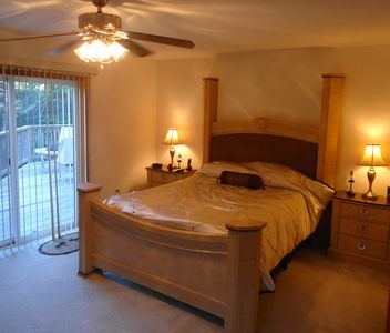 West Wardsboro house rental - Master Bedroom Suite