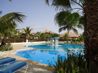 3 bedroom luxury villa with infinity pool & private beach