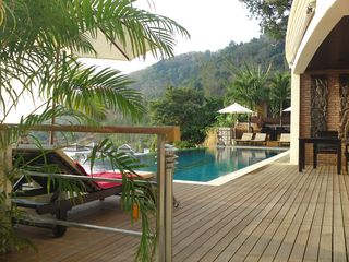 Kamala beach villa photo - Pool 14 meter(infinity) lower level