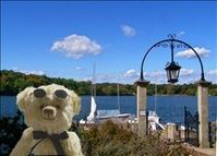 Enjoying the beauty and serenity of Jamaica Pond