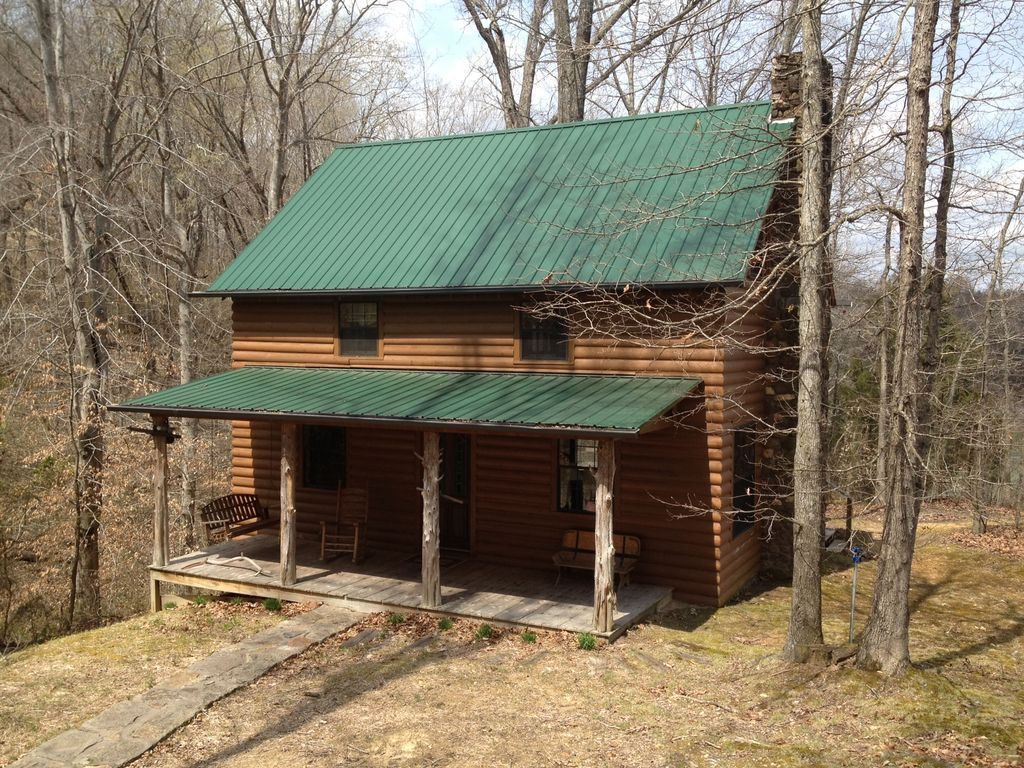 Very private 2 bedroom 2 bath lakeview log cabin Log cabin 2 bedroom