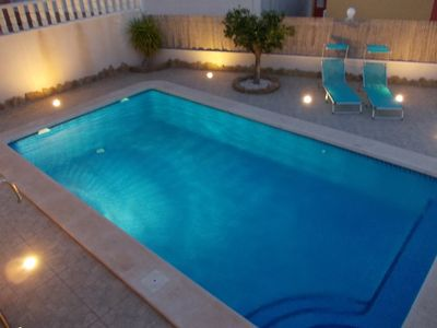Cabo Roig villa rental - Private heated pool