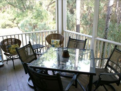 Spend Time on the Screened Porch