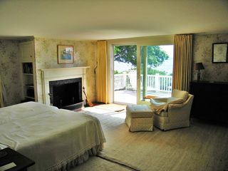 Mattapoisett house photo - Little House Master Bedroom and Balcony