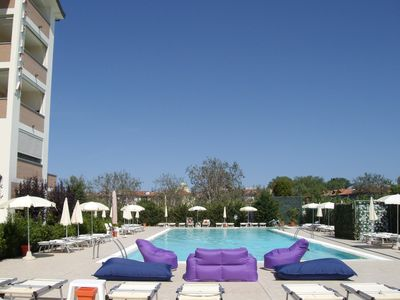 Apartment for 6 in residence with swimming pool, Lido degli Estensi