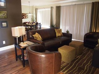 Old Town Scottsdale condo photo - A view of the living and dining area.