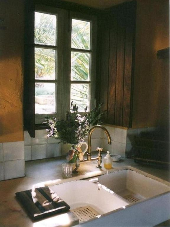 The Cottage's kitchen sink
