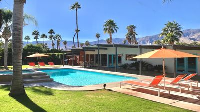 Iconic Alexander Midcentury Modern House with Panoramic Views and Pool & Spa