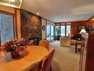 Welches condo photo - Come inside and warm up by the fire!
