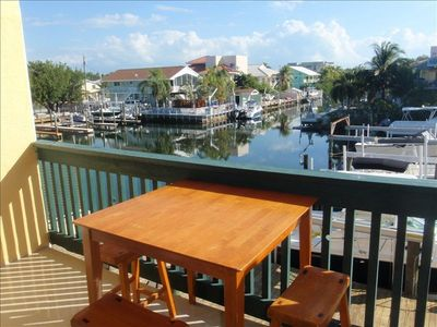 Key Largo condo rental - Table and Chairs on the Terrace