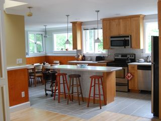 Hampton Bays house photo - All new convenient kitchen and dining room