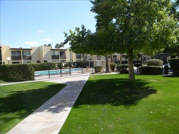 Scottsdale Camelback condo rental - One of four pools at Camelback House