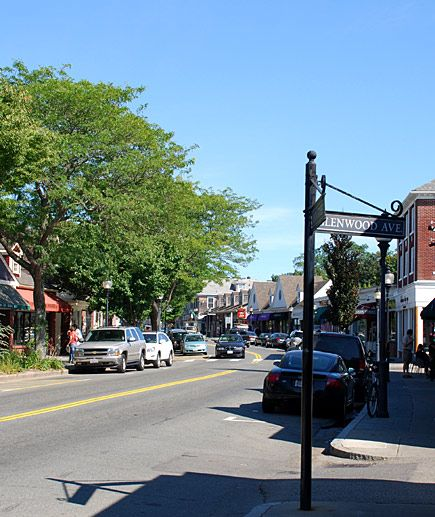 Downtown Falmouth: Restaurants, gifts & souvenirs, art, antiques,& ice cream