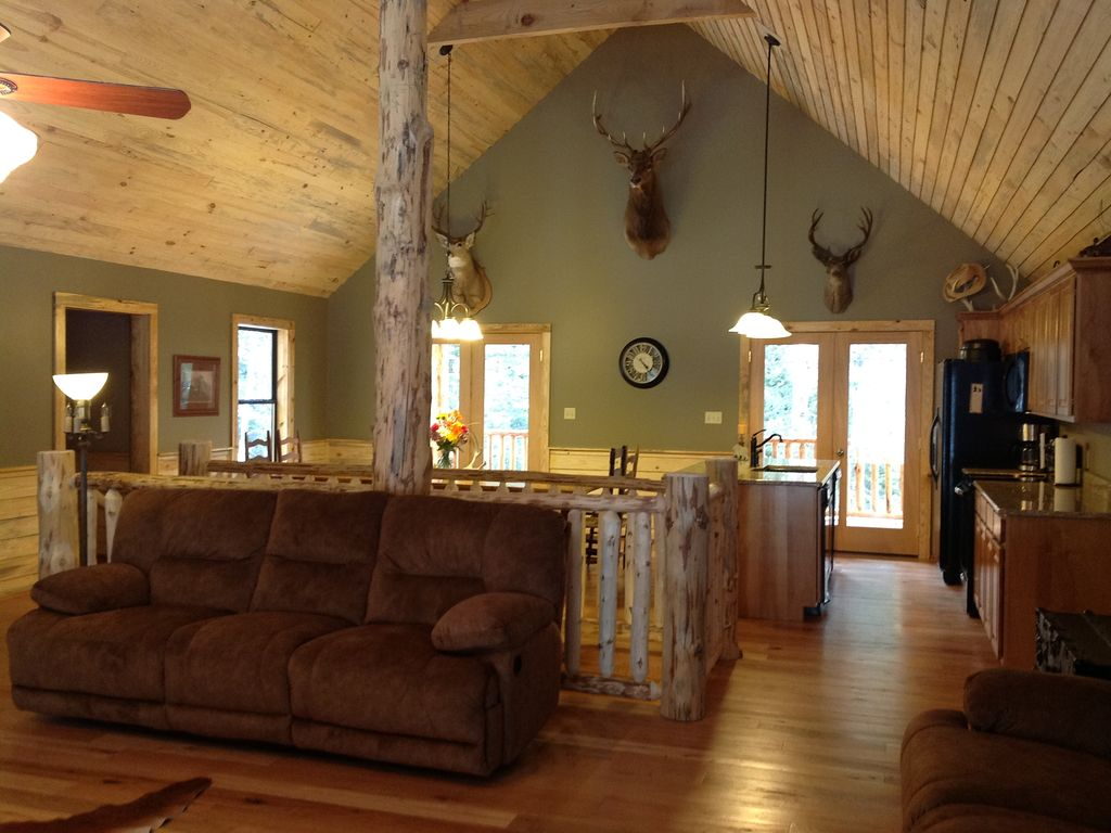 Ski monarch and relax in our awesome luxury vrbo - Front door opens to kitchen ...