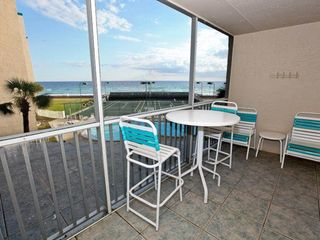 Holiday Surf and Racquet Club Destin condo photo - Screened in balcony