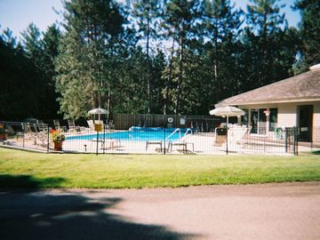 Pool Area directly across from the Unit