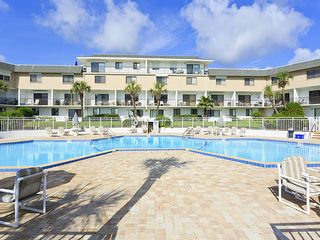 Flagler Beach house photo - The huge pool at the resort, just waiting for you.