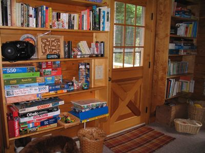 Somesville house rental - Lots of toys, games, and books for all ages