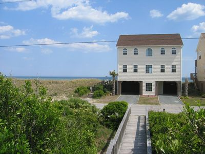 Surf City house rental - Front View - Flip-Floppin' Topsail Island