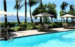 Lahaina condo photo - Our large pool and Jacuzzi located by the ocean