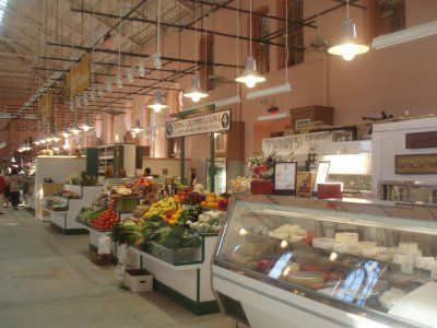 Interior of Eastern Market.