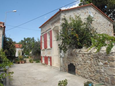Fully Restored Greek Style Old Stone House