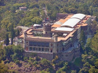 Chapultepec Castle only a 15 minute car ride away.