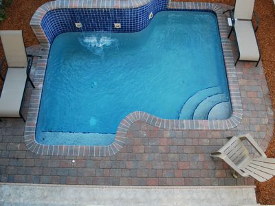 Fantastic Custom Heated Pool!