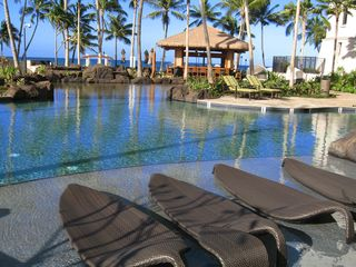 Ko Olina villa photo - Lagoon Pool Loungers