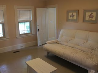 Ogunquit house photo - First floor bedroom has queen futon.