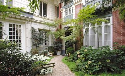 Lovely, Perfectly Located Apartment with a Garden: Unique in the 'Good' Paris !