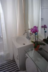 Queens apartment photo - classic design bathroom