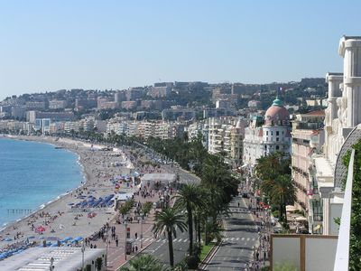 Central Nice apartment rental - Nice beach facing west