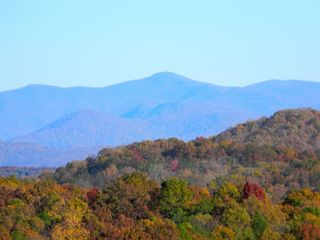 Morganton cabin photo - Fall photo of Brasstown Bauld mountain range.