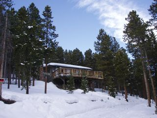 Evergreen cottage photo - The Cottage turns to a Winter Wonderland - Winter Sports Nearby