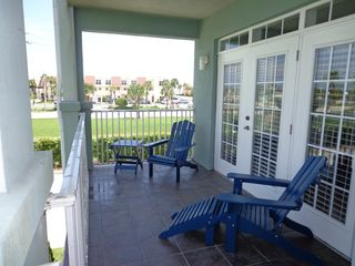 St. Augustine Beach condo photo - Tiled patio Living room entry