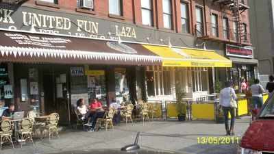 Harlem apartment rental - The Shrine and Yatenga Bistros/Resturants 2 minutes away.