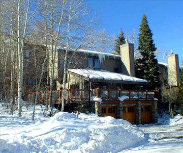 Ski In/Ski Out in Park City, UT with Private Hot Tub, Forest & Mountain Views