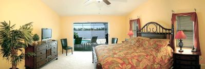 Master Bedroom with view to lake Thunderbird
