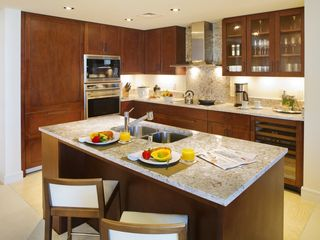 Honolulu condo photo - Kitchen has what you need-- or indulge with in-room dining or personal chef