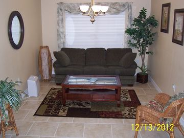 Sitting Room off Kitchen with Queen Sleep Sofa